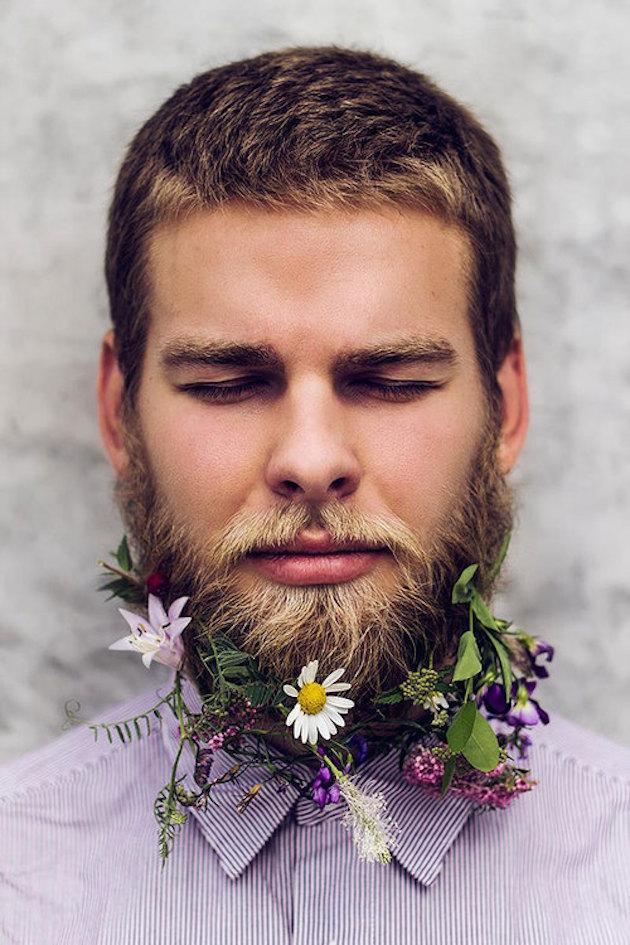 15 ideas for Fresh Flower Wedding Hair | Bridal Musings Wedding Blog 18