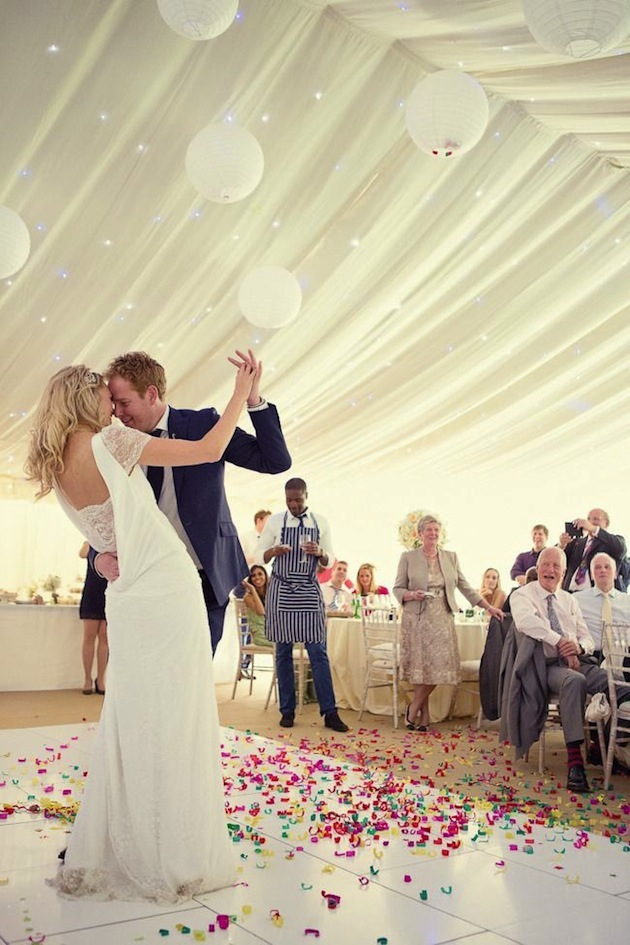 The top 10 fun & fabulous wedding confetti ideas! - Confetti Dance Floor