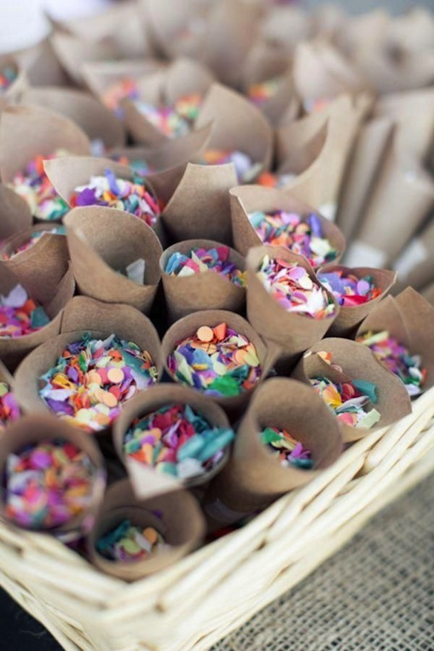 The top 10 fun & fabulous wedding confetti ideas! - Confetti Send Off