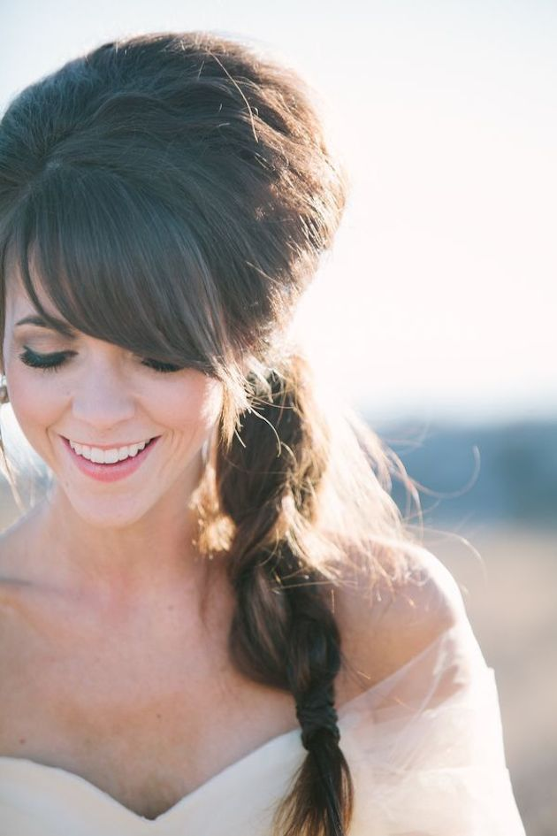 Brides With Bangs | Brides with Fringes | Wedding Hair Inspiration | Bridal Musings 14