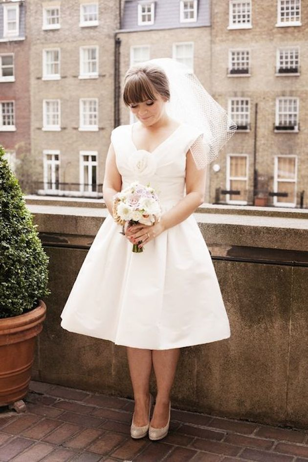 Brides With Bangs | Brides with Fringes | Wedding Hair Inspiration | Bridal Musings 3