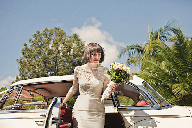 Brides With Bangs | Brides with Fringes | Wedding Hair Inspiration | Bridal Musings 9