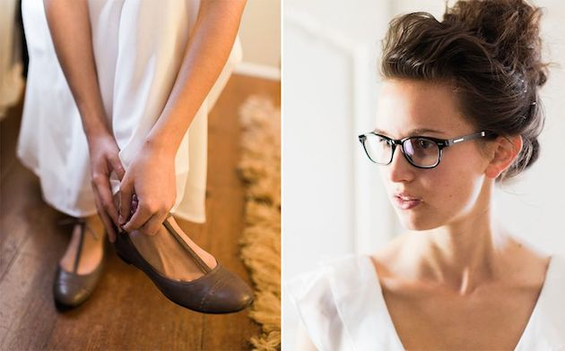Brides with Glasses | Bridal Musings Wedding Blog 10