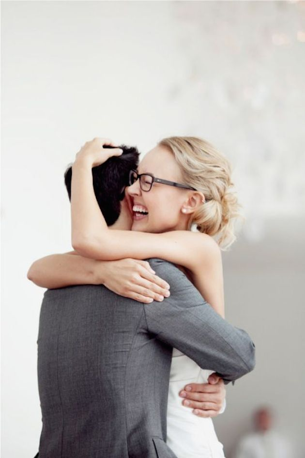 Brides with Glasses | Bridal Musings Wedding Blog 2