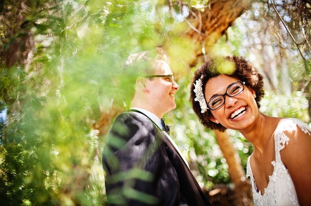 Brides with Glasses | Bridal Musings Wedding Blog 3