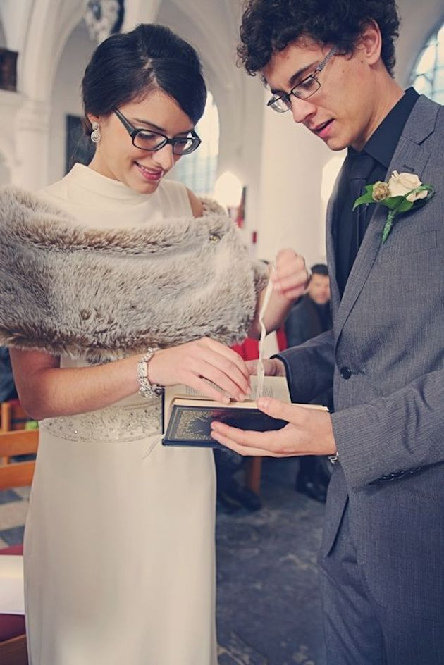 Brides with Glasses | Bridal Musings Wedding Blog 4