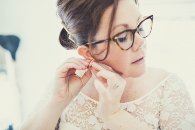 Brides with Glasses | Bridal Musings Wedding Blog 5