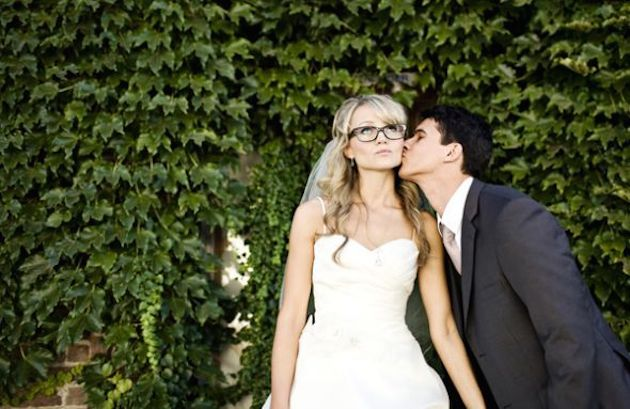 Brides with Glasses | Bridal Musings Wedding Blog 8