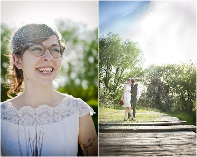 Brides with Glasses | Bridal Musings Wedding Blog 9