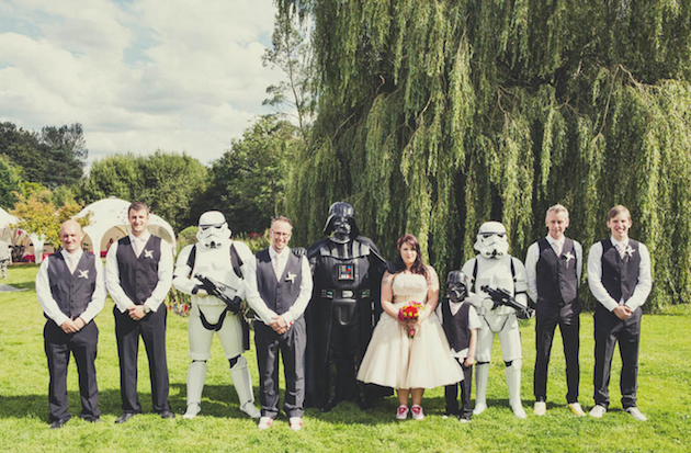 13 Chic Star Wars Themed Wedding Ideas