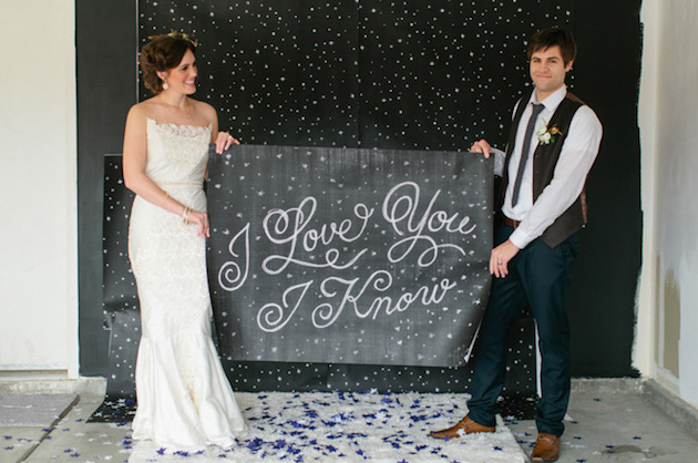 Chic Star Wars Themed Wedding Ideas | Bridal Musings Wedding Blog 15