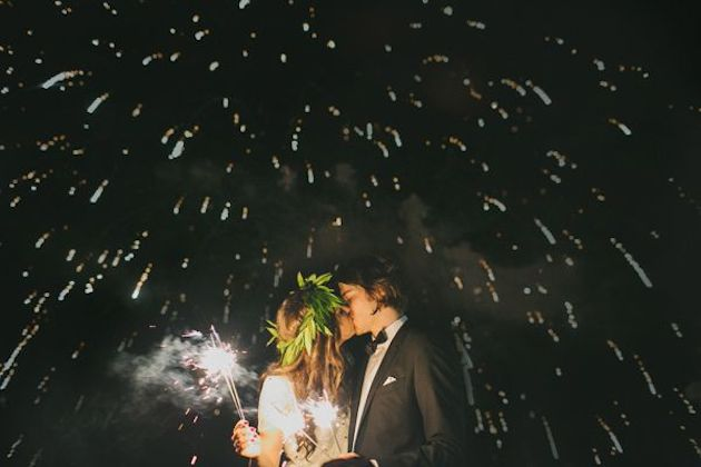 Fireworks and Sparklers | 4th of July Wedding Ideas | Bridal Musings Wedding Blog 10