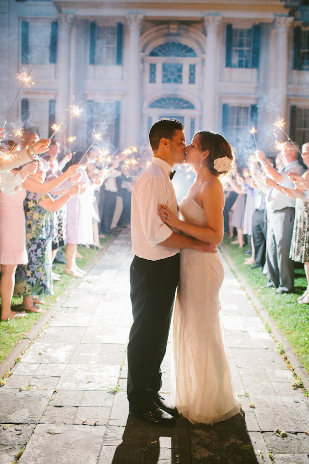 Fireworks and Sparklers | 4th of July Wedding Ideas | Bridal Musings Wedding Blog 12