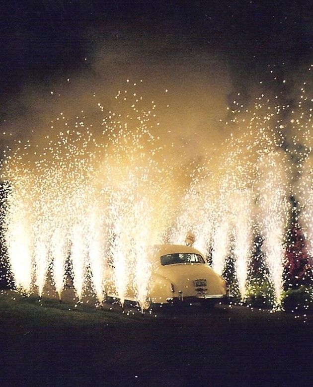 Fireworks and Sparklers | 4th of July Wedding Ideas | Bridal Musings Wedding Blog 14