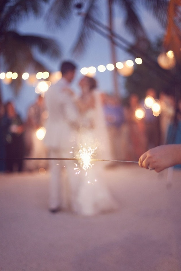 Fireworks and Sparklers | 4th of July Wedding Ideas | Bridal Musings Wedding Blog 18