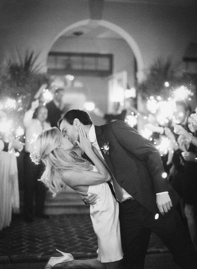 Fireworks and Sparklers | 4th of July Wedding Ideas | Bridal Musings Wedding Blog 2