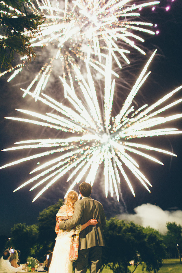 Fireworks and Sparklers | 4th of July Wedding Ideas | Bridal Musings Wedding Blog 21