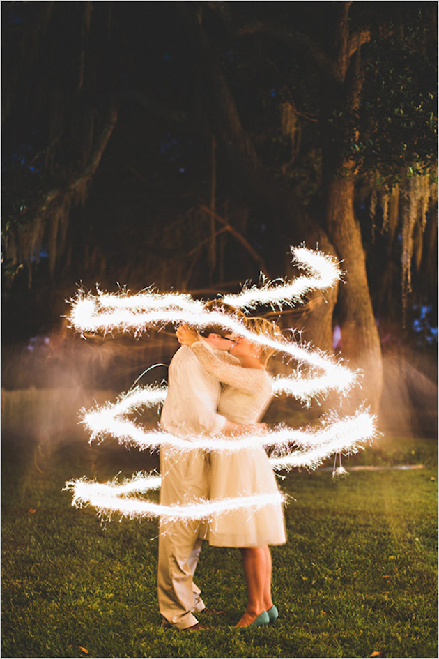 Fireworks and Sparklers | 4th of July Wedding Ideas | Bridal Musings Wedding Blog 22