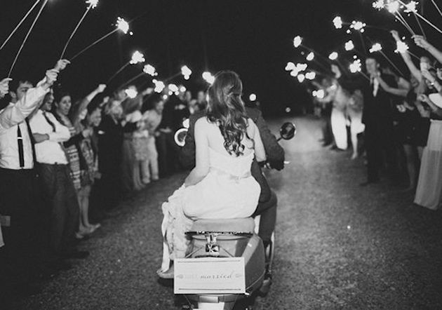 Fireworks and Sparklers | 4th of July Wedding Ideas | Bridal Musings Wedding Blog 4