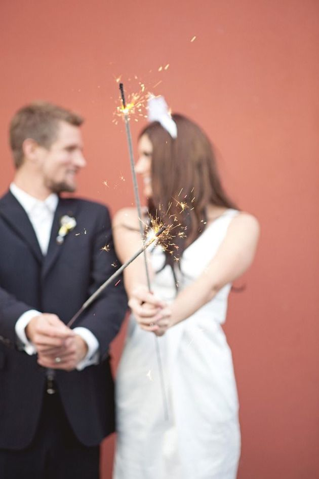 Fireworks and Sparklers | 4th of July Wedding Ideas | Bridal Musings Wedding Blog 6