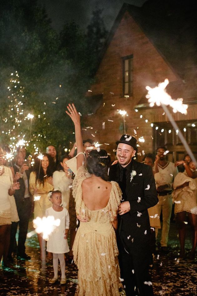 Fireworks and Sparklers | 4th of July Wedding Ideas | Bridal Musings Wedding Blog 8