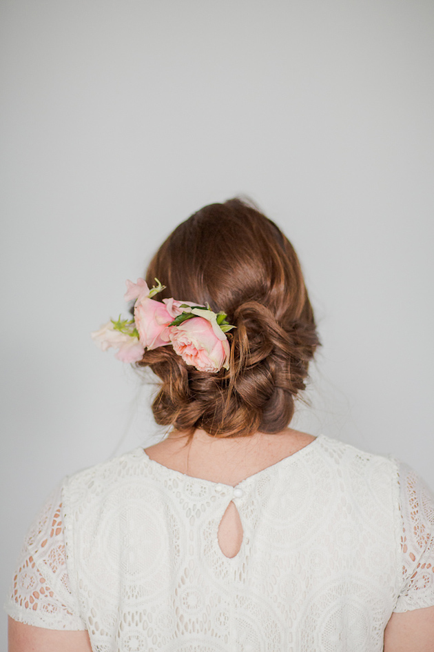 Flower Hair Slide | DIY Tutorial | Bridal Musings Wedding Blog 20