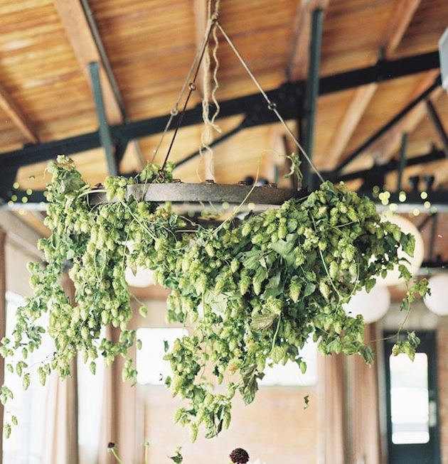 Foliage is the new Flowers | Bridal Musings Wedding Blog 12