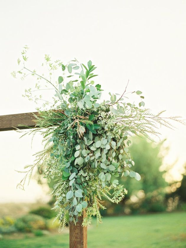 Foliage is the new Flowers | Bridal Musings Wedding Blog 13