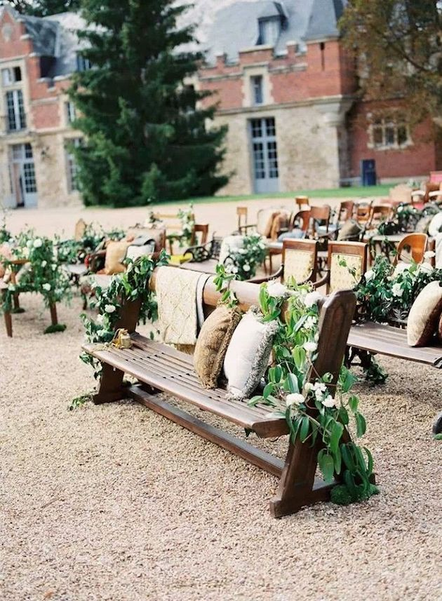 Foliage is the new Flowers | Bridal Musings Wedding Blog 16