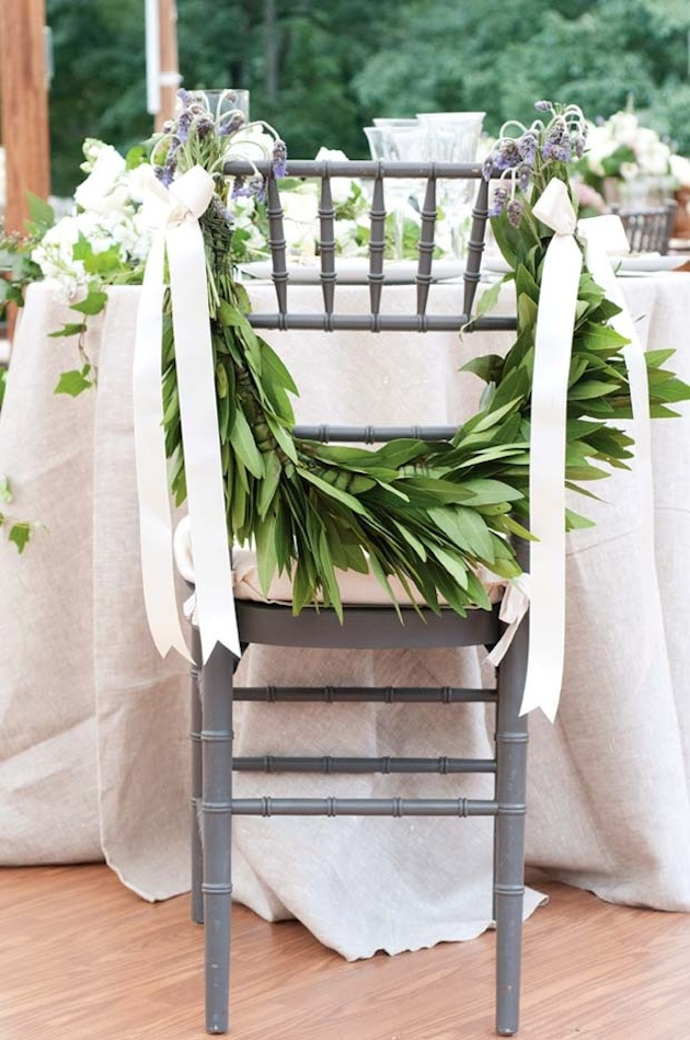 Foliage is the new Flowers | Bridal Musings Wedding Blog 17