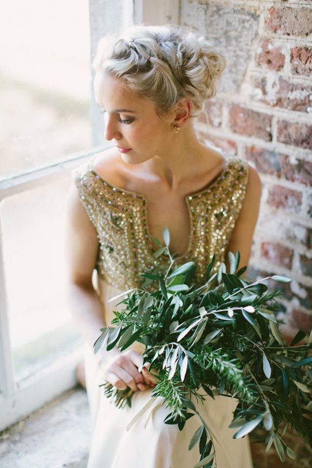 Foliage is the new Flowers | Bridal Musings Wedding Blog 19