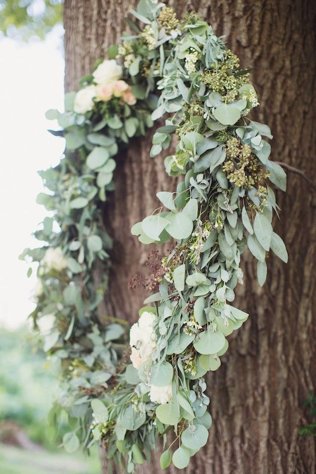 Foliage is the new Flowers | Bridal Musings Wedding Blog 2