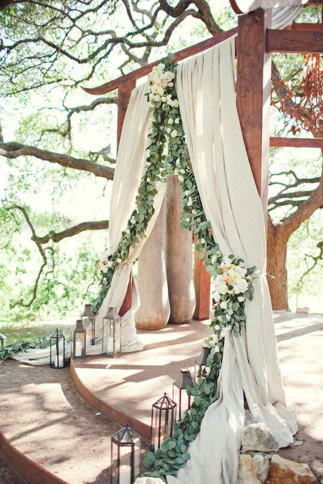 Foliage is the new Flowers | Bridal Musings Wedding Blog 21