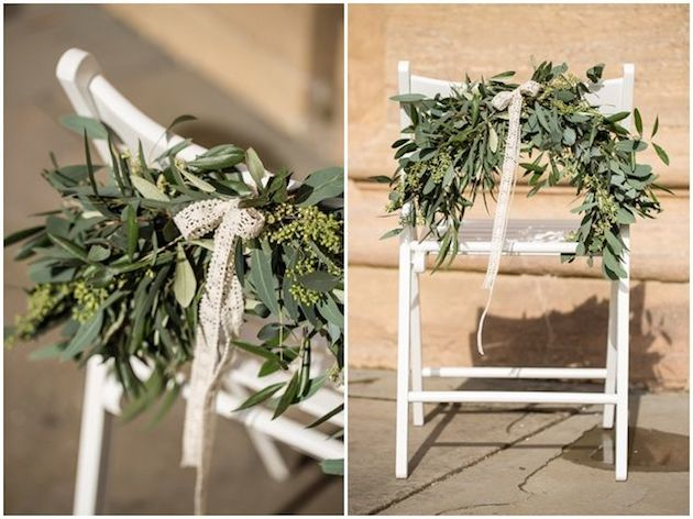 Foliage is the new Flowers | Bridal Musings Wedding Blog 22