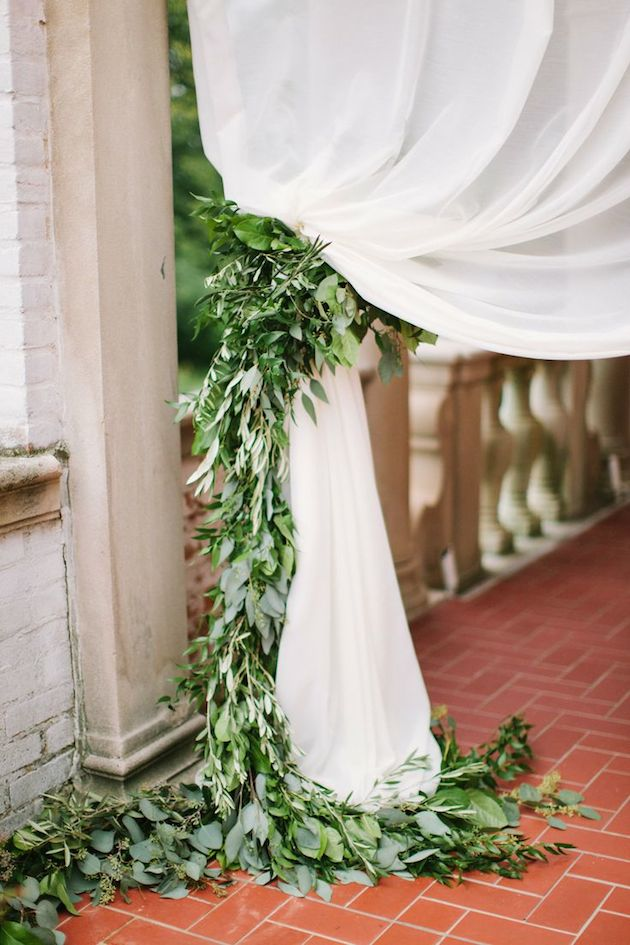 Foliage is the new Flowers | Bridal Musings Wedding Blog 23
