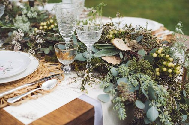 Foliage is the new Flowers | Bridal Musings Wedding Blog 24