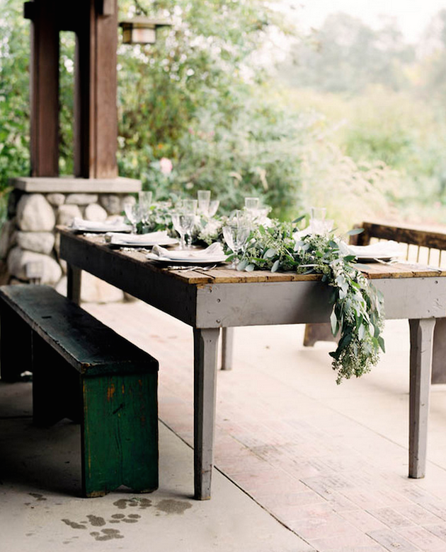 Foliage is the new Flowers | Bridal Musings Wedding Blog 29