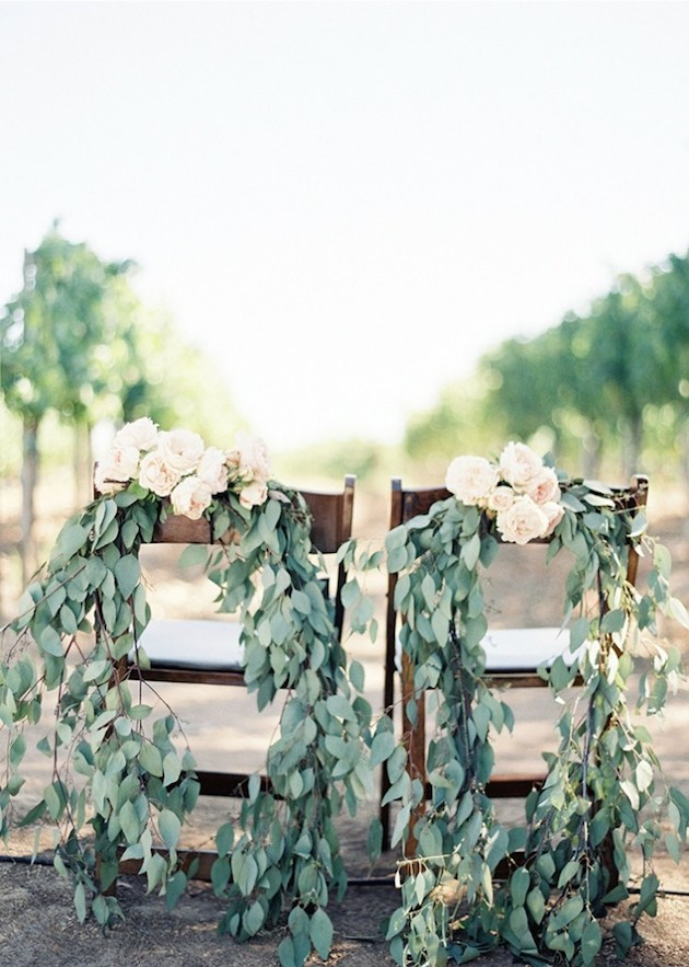 Foliage is the new Flowers | Bridal Musings Wedding Blog 31