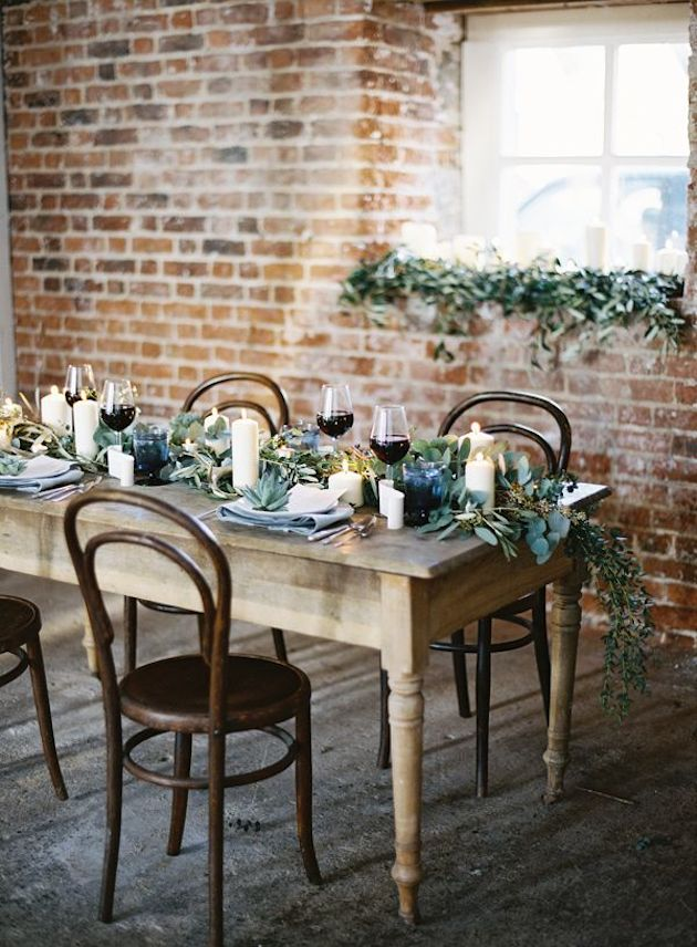 Foliage is the new Flowers | Bridal Musings Wedding Blog 7