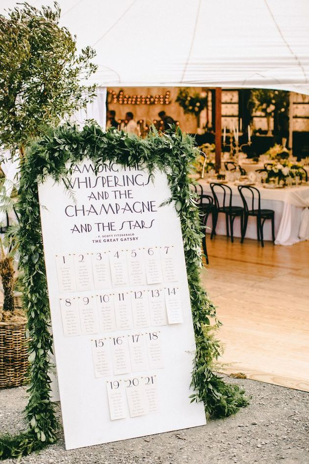 Foliage is the new Flowers | Bridal Musings Wedding Blog 9