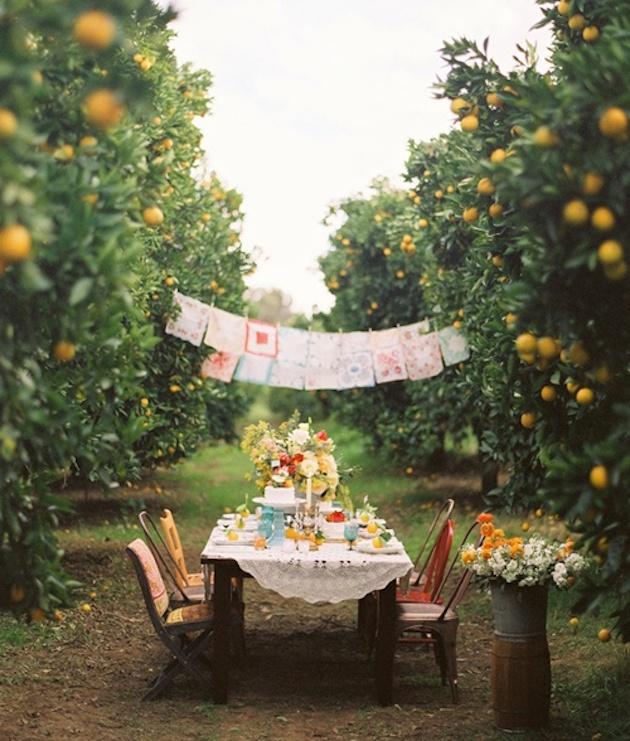 Fresh Fruit Wedding Inspiration | Bridal Musings Wedding Blog 1