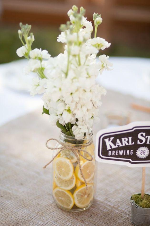 Fresh Fruit Wedding Inspiration | Bridal Musings Wedding Blog 2