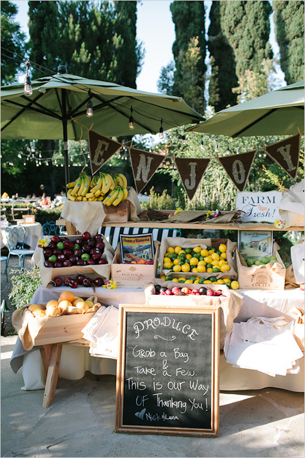 Fresh Fruit Wedding Inspiration | Bridal Musings Wedding Blog 20