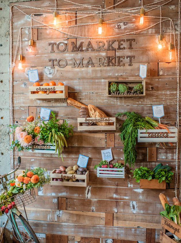 Fresh Fruit Wedding Inspiration | Bridal Musings Wedding Blog 25