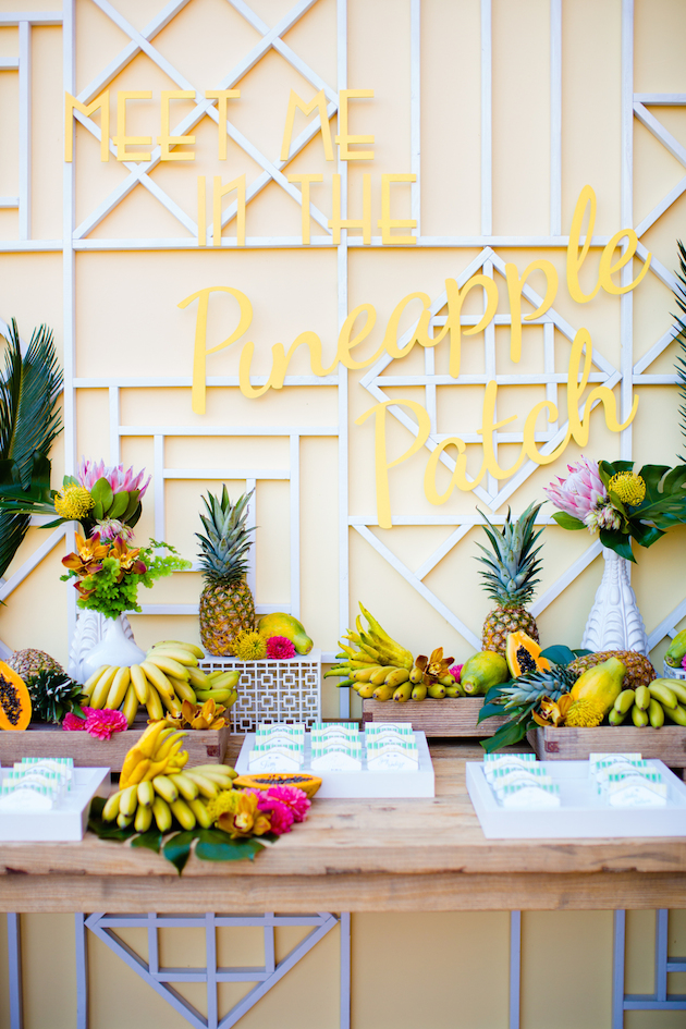 Fresh Fruit Wedding Inspiration | Bridal Musings Wedding Blog 28