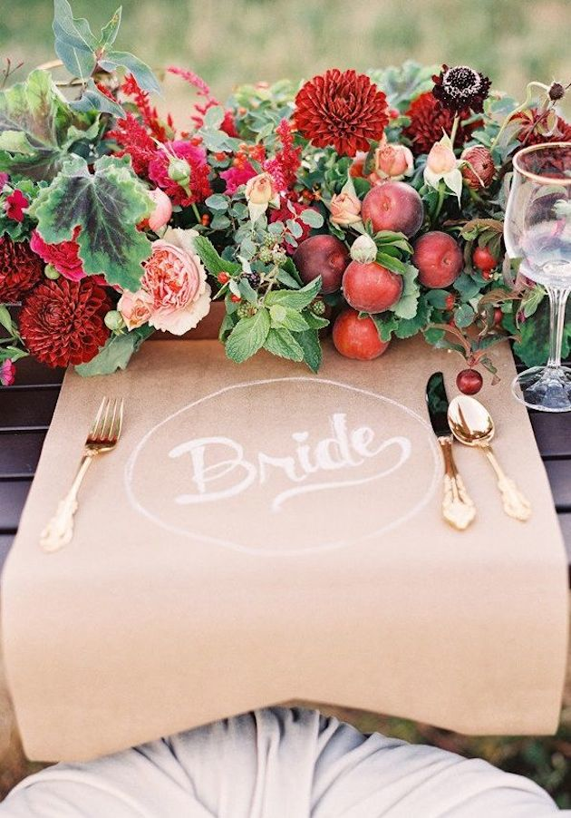 Fresh Fruit Wedding Inspiration | Bridal Musings Wedding Blog 3