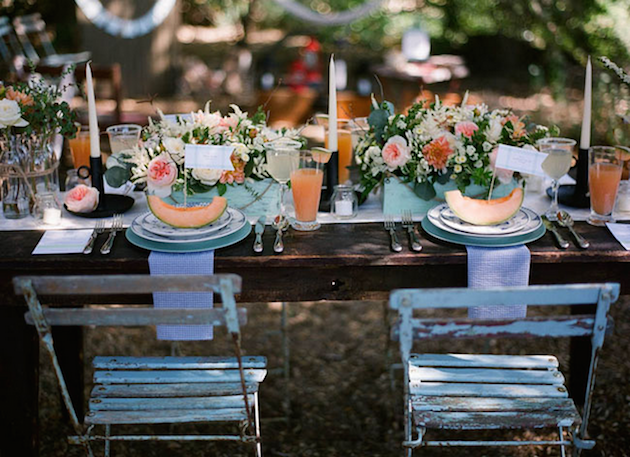Fresh Fruit Wedding Inspiration | Bridal Musings Wedding Blog 30