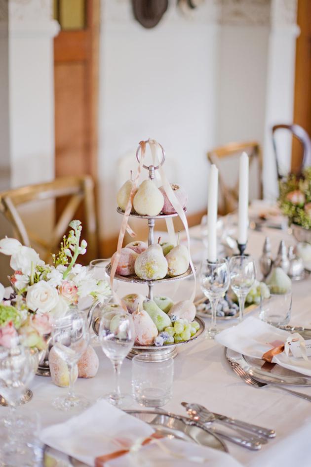 Fresh Fruit Wedding Inspiration | Bridal Musings Wedding Blog 31
