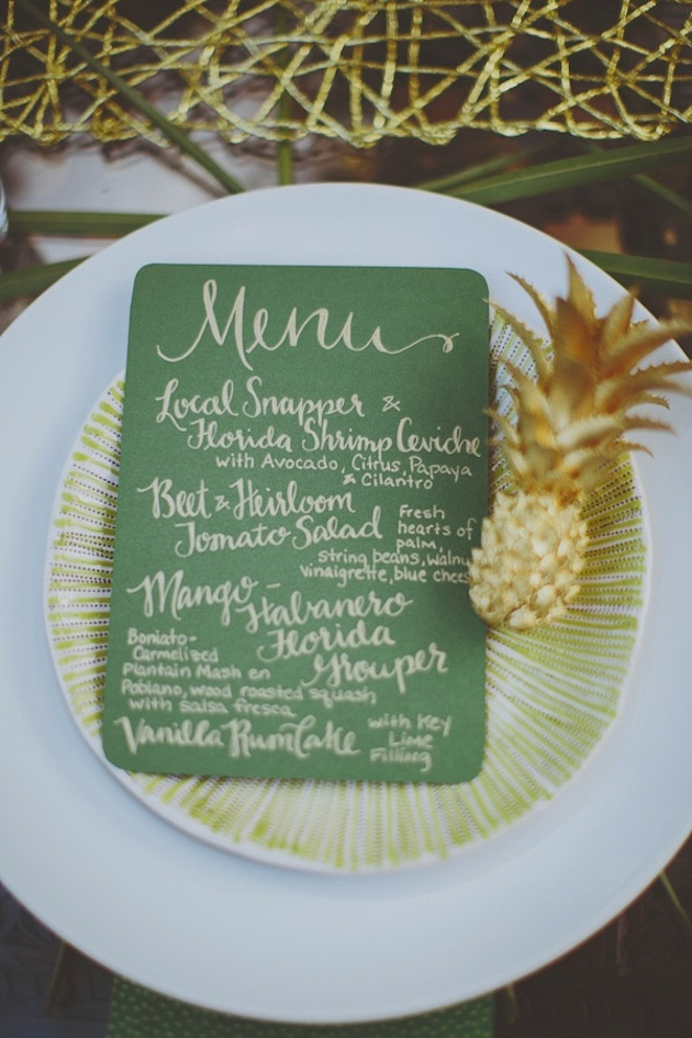 Fresh Fruit Wedding Inspiration | Bridal Musings Wedding Blog 5