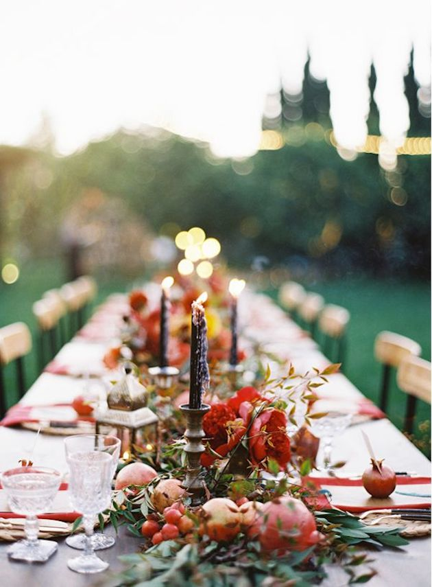 Fresh Fruit Wedding Inspiration | Bridal Musings Wedding Blog 7